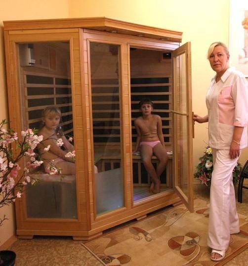 Инфракрасная сауна: польза и вред, как часто можно посещать