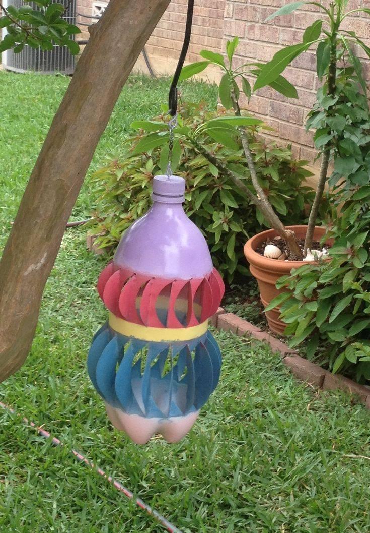 Пропеллер из пластиковой бутылки. как сделать флюгер своими руками из пластиковой бутылки