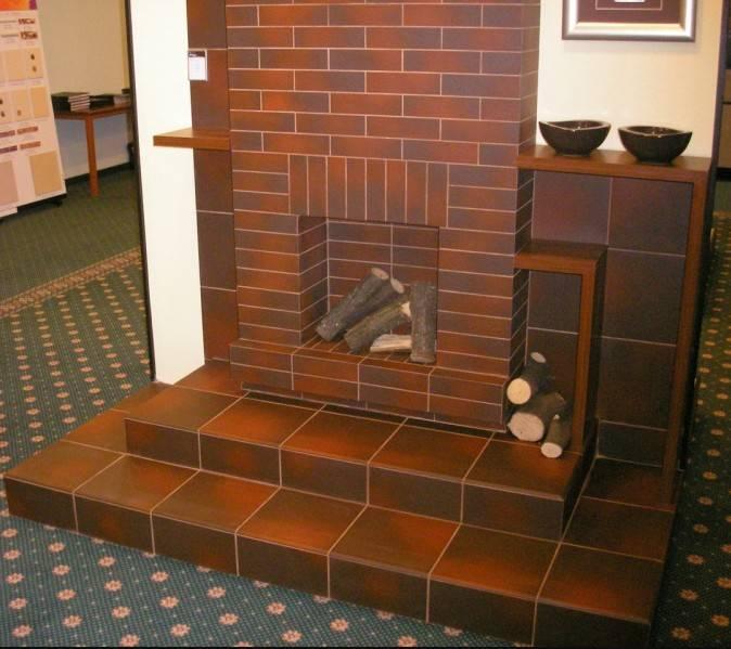 Особенности клинкерной плитки для печей и каминов
