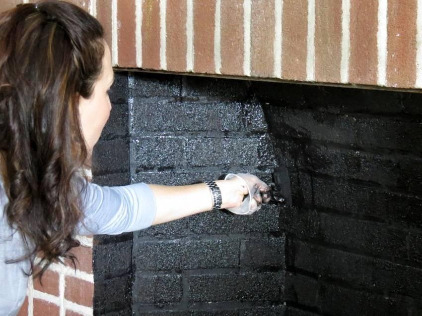 Чем покрасить печь из металла или кирпича: обзор красок и способов