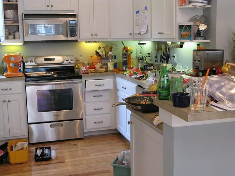 Порядок на кухне – идеи и советы для организации уборки