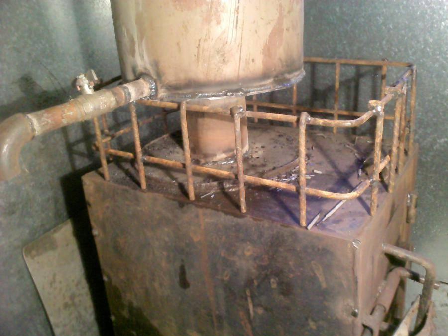 Принципы выбора и изготовления газового котла для бани
