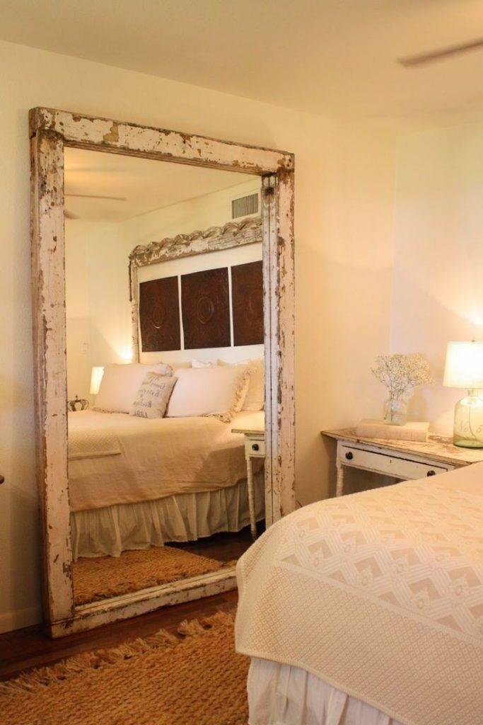 Зеркало в спальне: предназначение, выбор и идеи декора