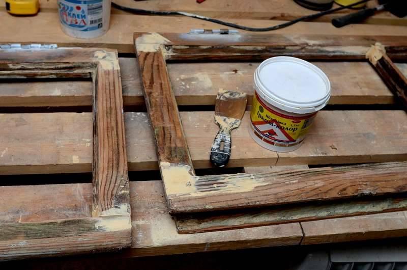 Ремонт и восстановление деревянных окон - пошаговая инструкция