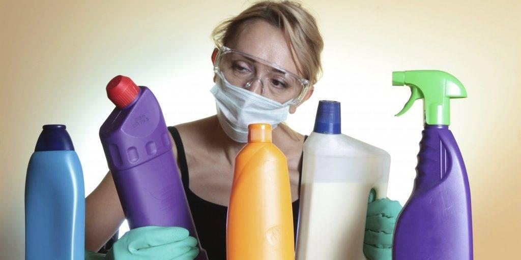 Вдохнула пары чистящего средства что делать   tsitologiya.su