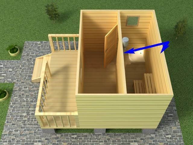 Как построить баню из блоков своими руками