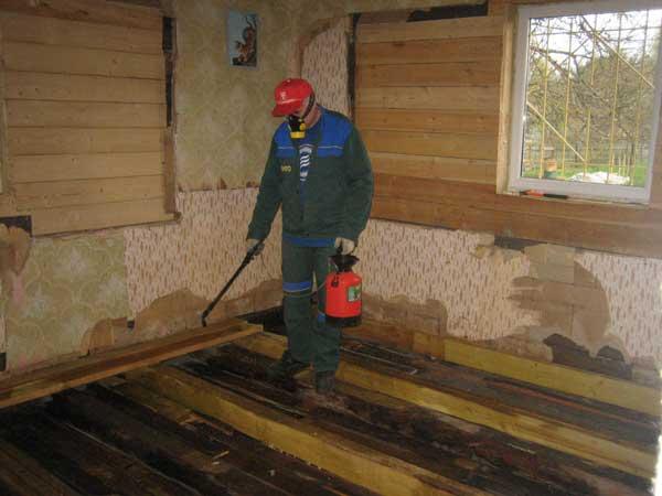 Обзор составов для обработки деревянных лаг пола