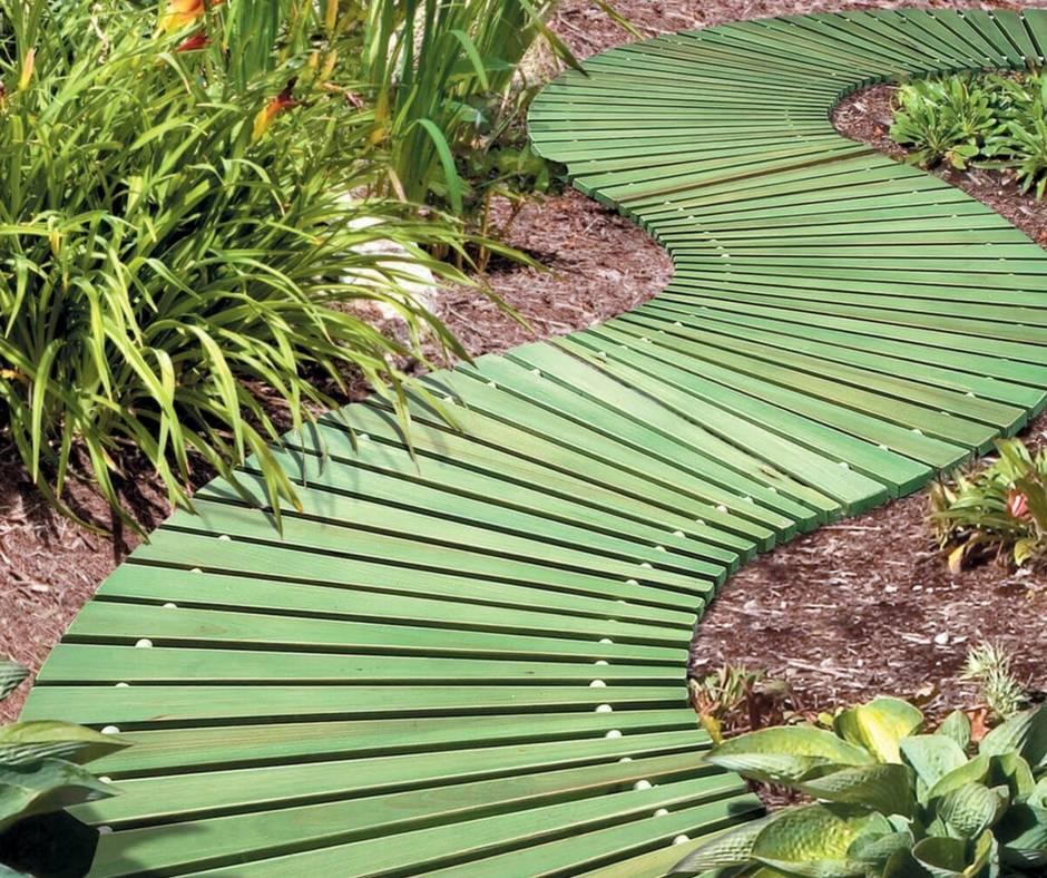 Садовые дорожки (129 фото): универсальные варианты оформления дорожек на даче, идеи и формы в ландшафтном дизайне