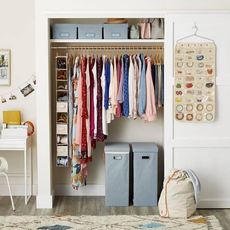Как хранить вещи в маленьком шкафу