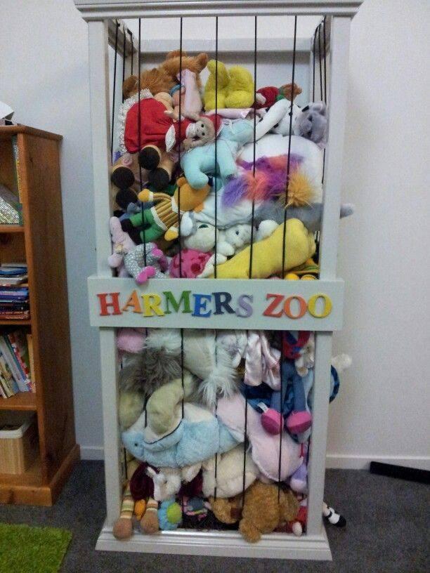 Идеи для детской комнаты. часть 3 - хранение игрушек. мягкие игрушки