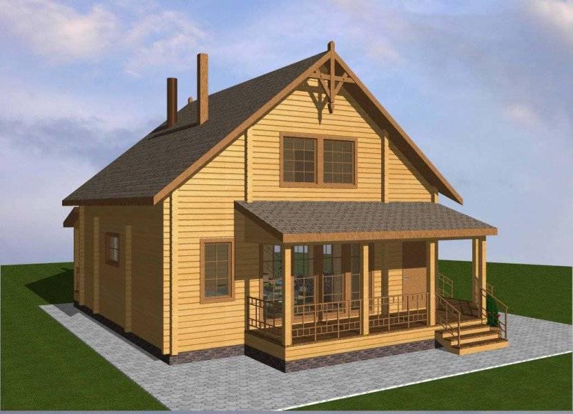 Проекты гостевых домов с баней: как пристроить гараж