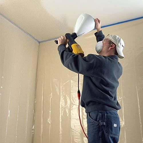 Как покрасить потолок водоэмульсионкой без разводов: выбор краски и инструкция по нанесен