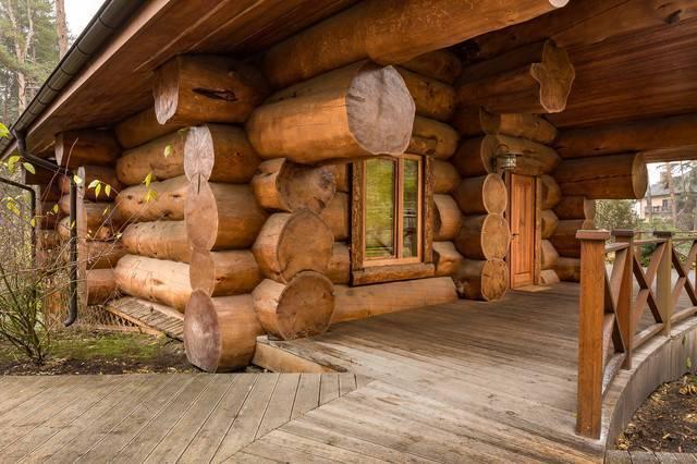 Баня из кедра — строительство кедровой сауны