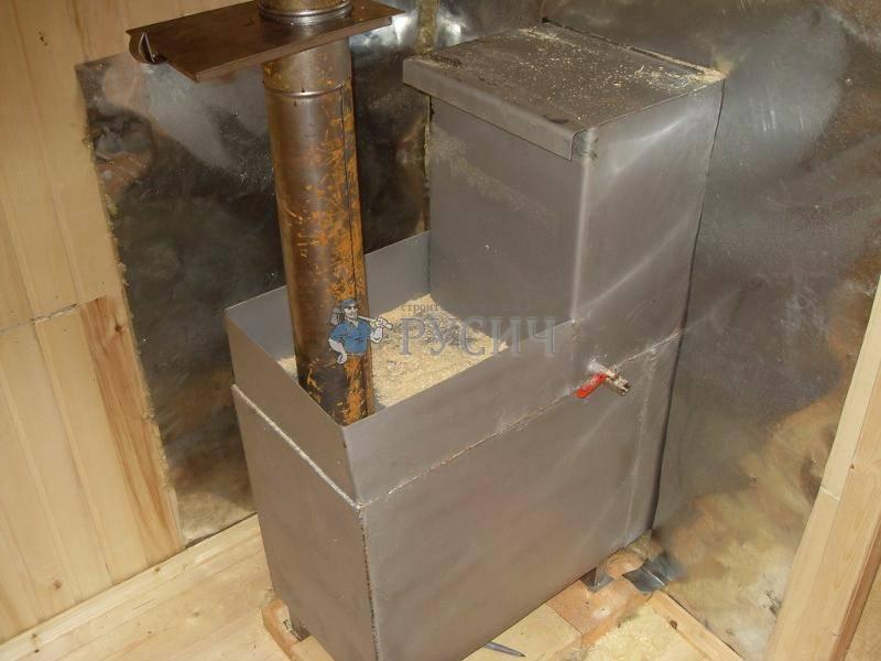 Изготовление бака для банной печи своими руками