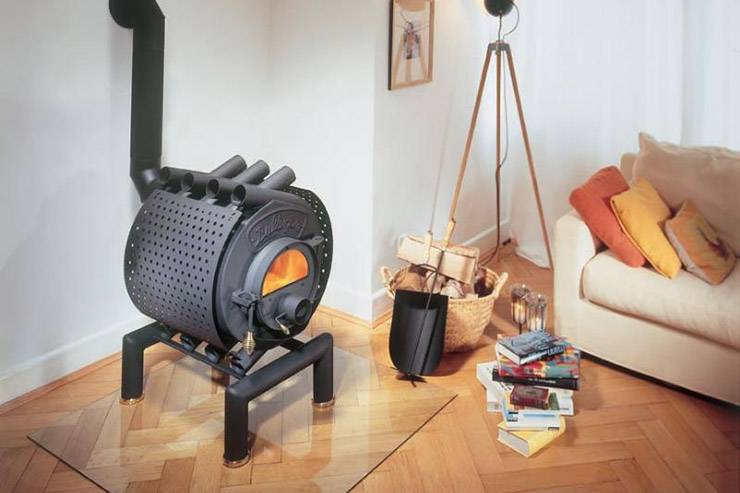 Как правильно топить печь булерьян и какие дрова использовать?