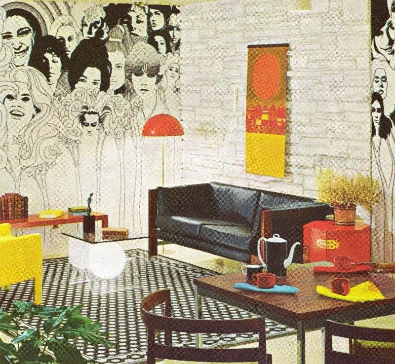 Интерьер 60-х: чем отличались квартиры на западе от жилья в ссср - статьи - атмосфера стиля - homemania