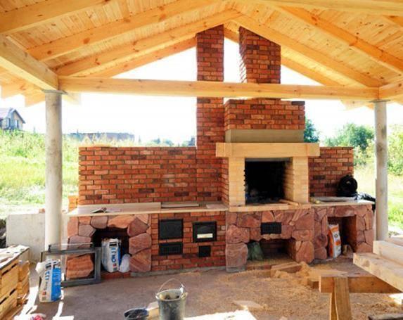 Веранда с мангалом, пристроенная к дому: как построить барбекю на террасе из кирпича своими руками, фото и примеры проектов