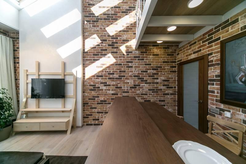 Стены лофт (54 фото): фотообои и обои под бетон, рисунки на стене, отделка доской и краской своими руками, дизайн оформления