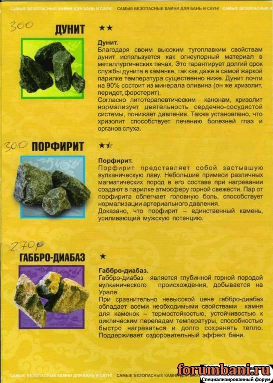 Камень дунит для бани: свойства, отзывы, недостатки и как избежать покупки лжедунита