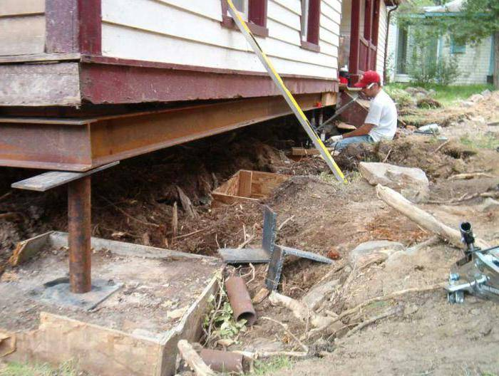 Ремонт фундамента деревянного дома своими руками - с фото и видео