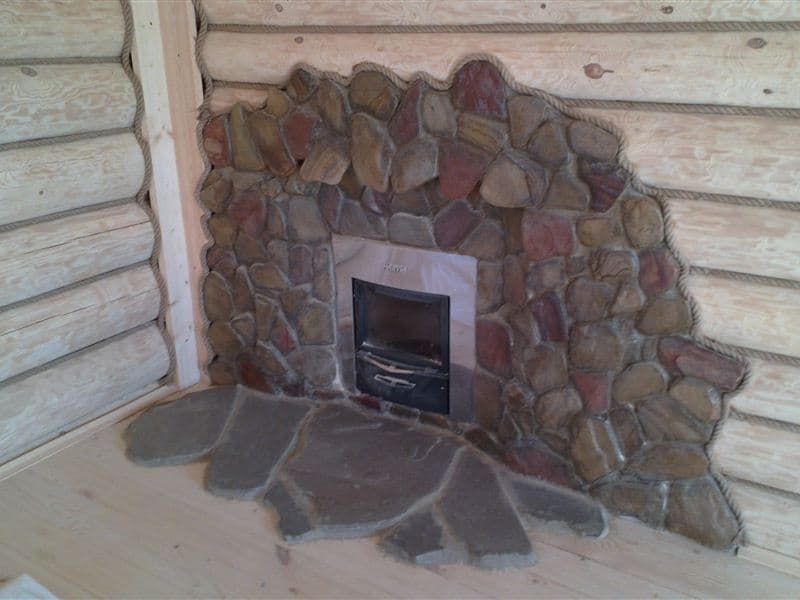 Отделка печи в доме своими руками: фото, побелка, декор глиной, как облагородить камин декоративным искусственным гипсовым камнем