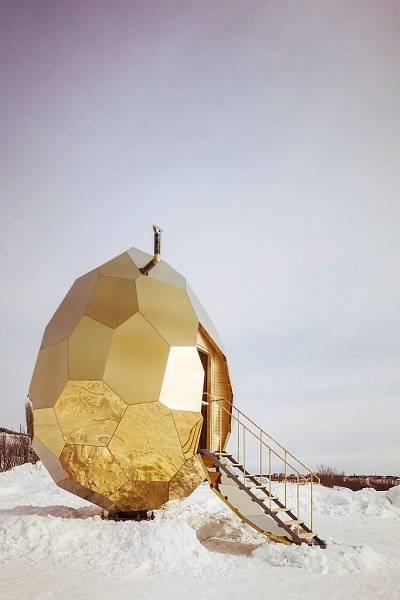Бунгало и золотая сауна: подборка зданий со всего мира в виде пасхальных яиц – фото - новости украины и мира - дом
