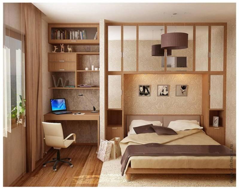 Всё о дизайне спальни 10 кв м (45 фото в интерьере)