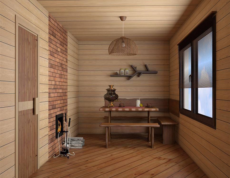 Дизайн предбанника внутри небольшой бани: лучшие советы по оформлению - стильный и современный дизайн интерьера для вас