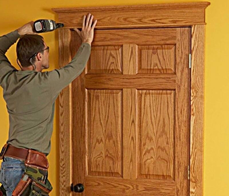 Просела межкомнатная дверь — что делать и как исправить?