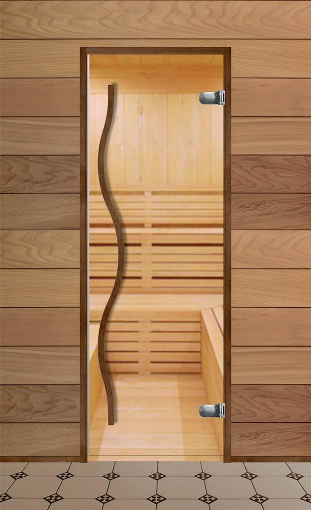 Какой должна быть дверь для бани из стекла: классические размеры и правила установки