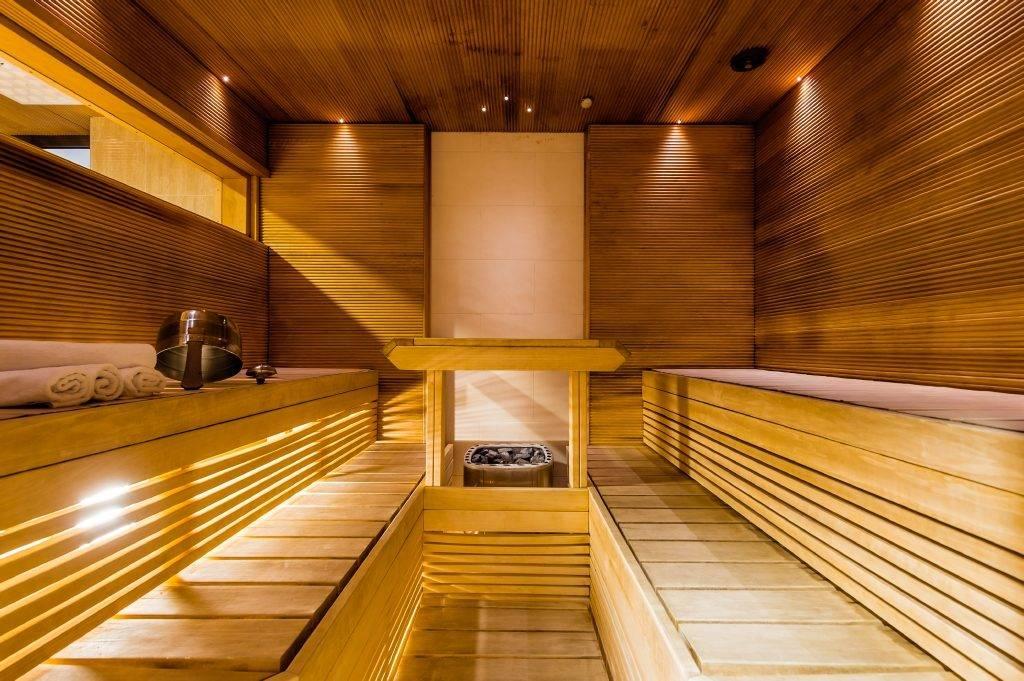 Комната отдыха в бане: фото, идеи, особенности  интерьера