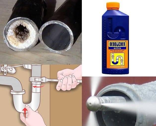 Канализационный засор, как прочистить? устранение засоров — инжи.ру
