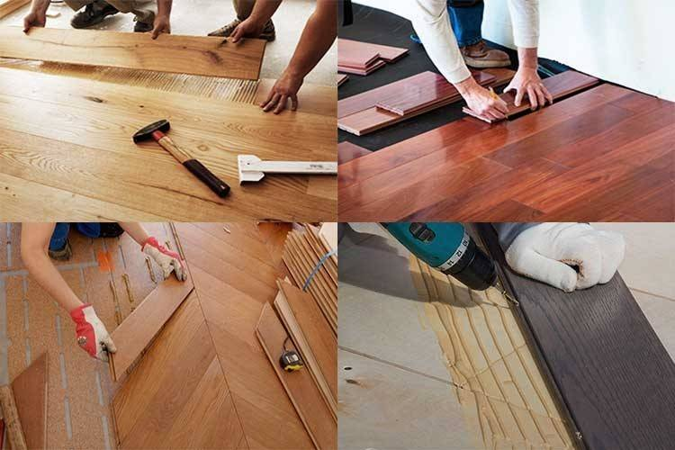 Как снять старую краску с деревянного пола тремя методами