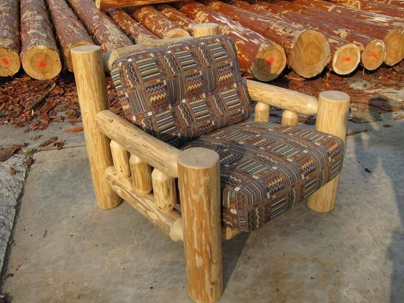 100 идей мебели из коряг, веток, пней и стволов деревьев в интерьере на фото