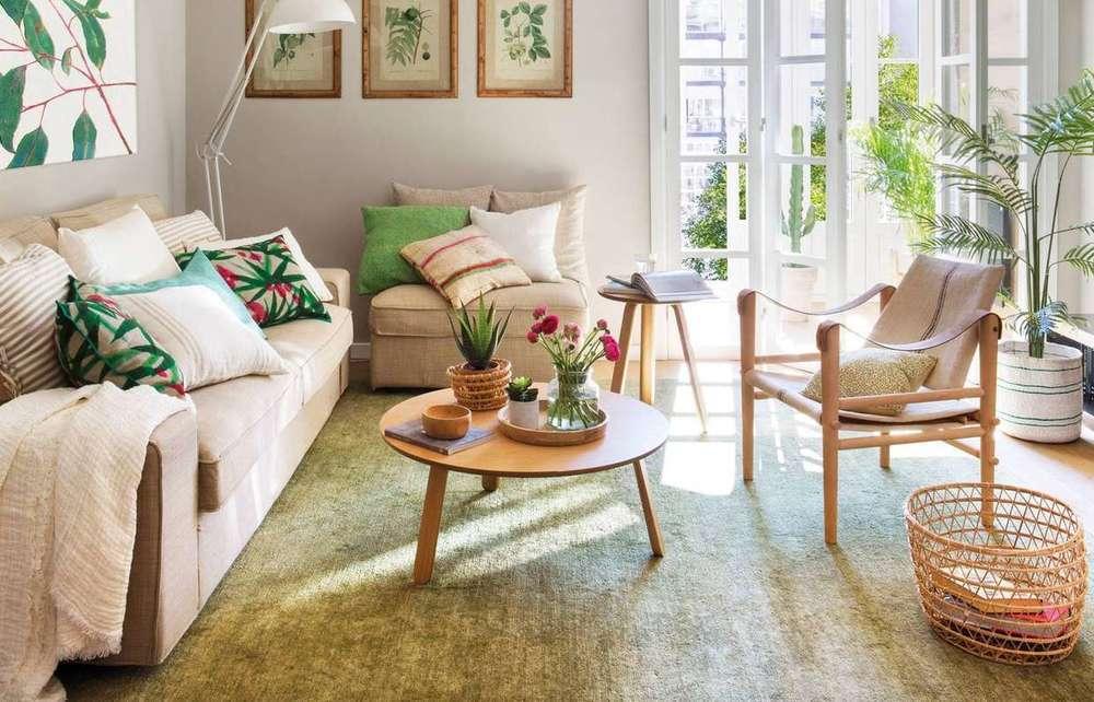 Комнатные растения в интерьере квартиры и дома (фото),