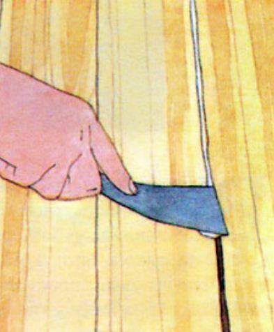 Как заделать щели в деревянном полу - инструкция!