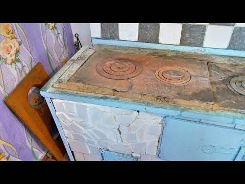 Плита варочная чугунная для печи с одной или двумя конфорками