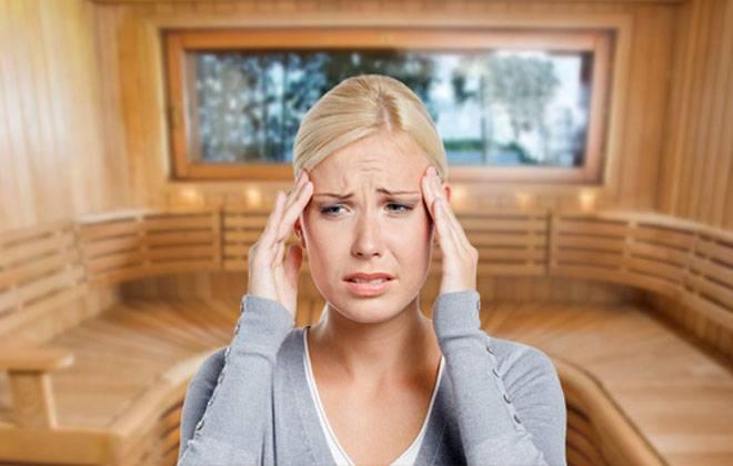 Почему после бани болит голова: основные причины и методы нормализации состояния при головной боли после бани