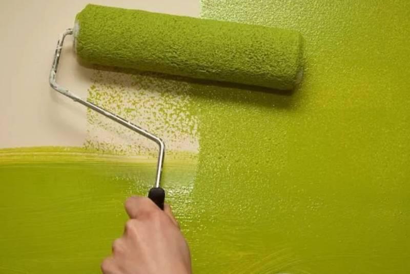 Какой краской красить стены в квартире: выбор + дизайн покраски