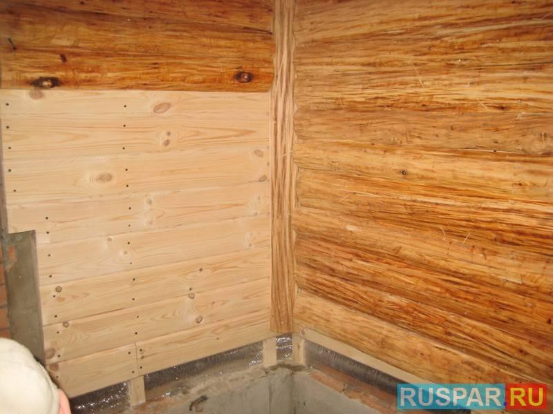 Отделка стен блокхаусом внутри – выбор материала и примеры интерьеров