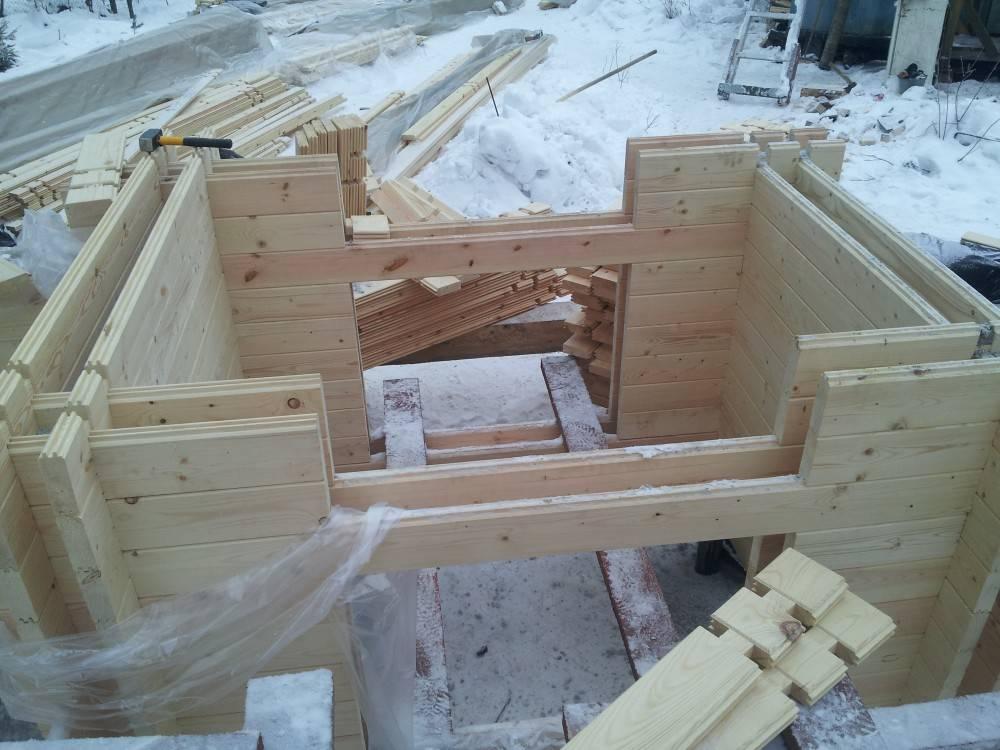 Дома из двойного бруса (53 фото): проекты теплых конструкций, строительство по финской технологии, отзывы владельцев