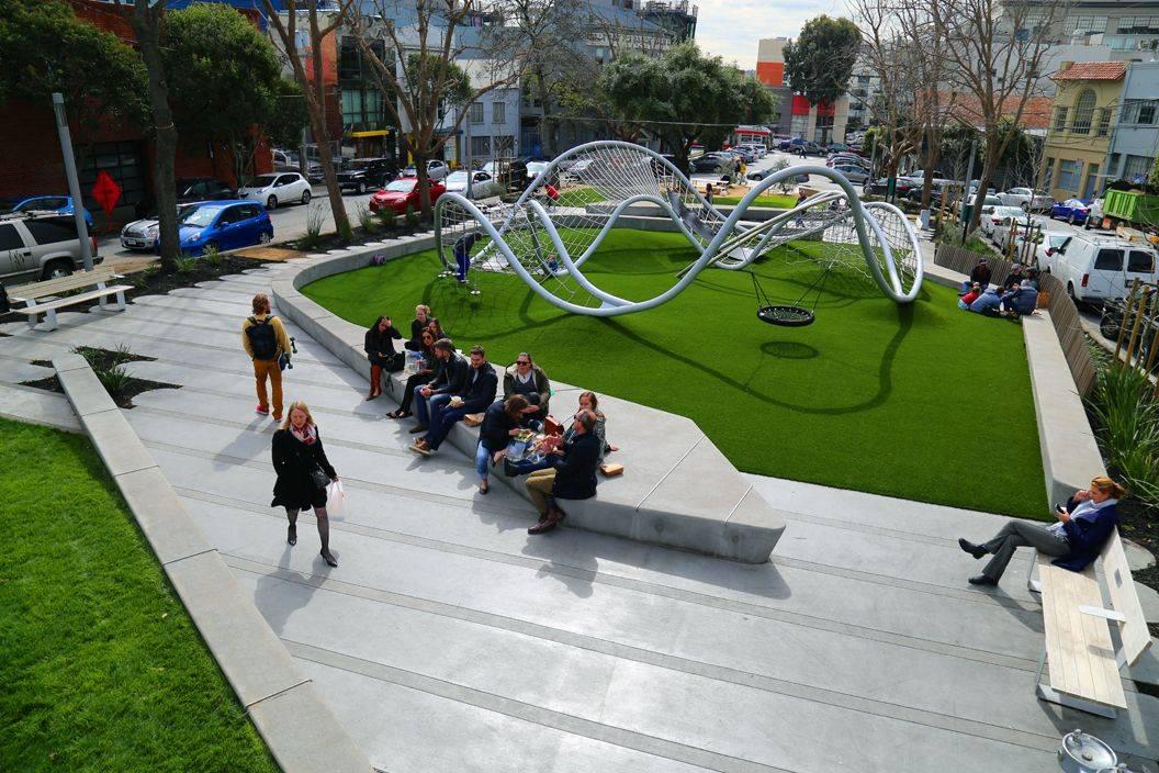 Современные городские парки: интересная и познавательная фотоподборка