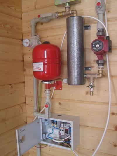 Правила выбора и установки электрических котлов для бани