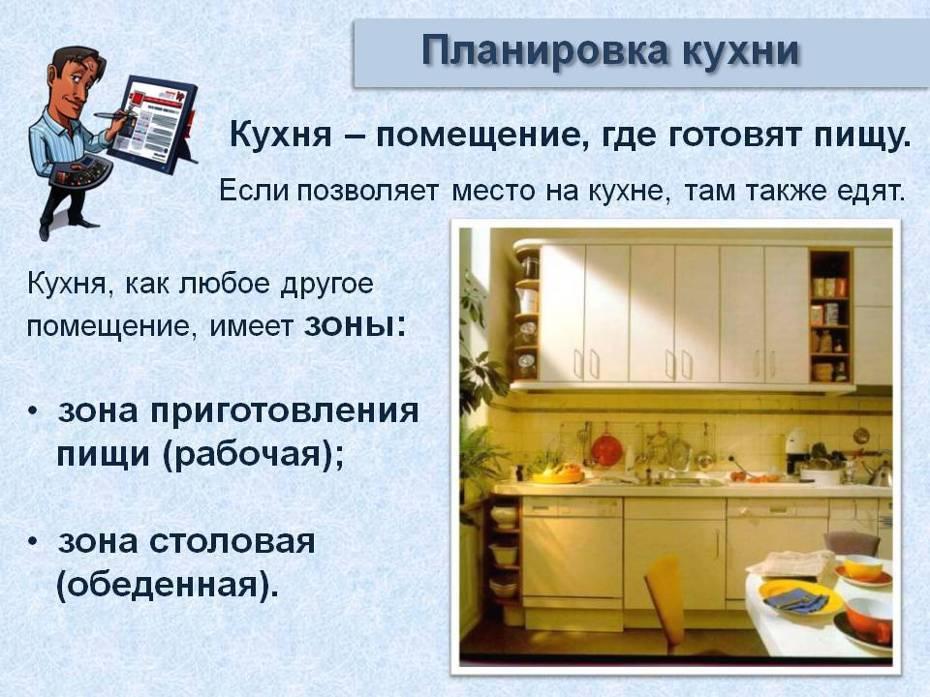 Как организовать рабочую зону на кухне?