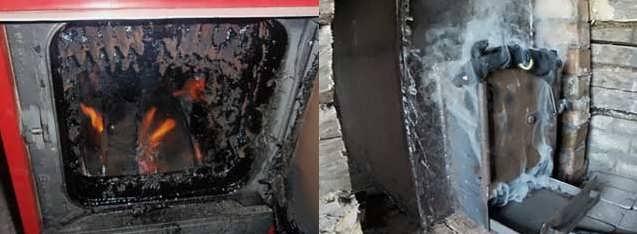 Почему дымит печь — возможные причины и их устранение. кирпичные печи. ремонт печи
