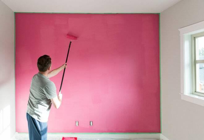 Покраска стен: как качественно окрасить своими руками. подбор краски и инструментов (75 фото) – строительный портал – strojka-gid.ru