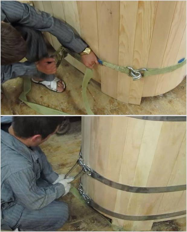 Как сделать купель для бани своими руками - чертежи и размеры