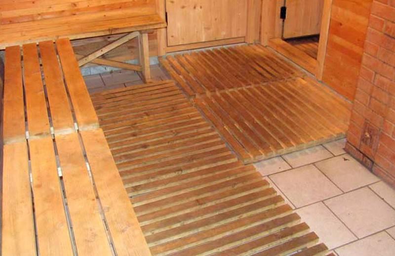 Холодный пол в бане: что делать, как исправить, почему в бане холодно