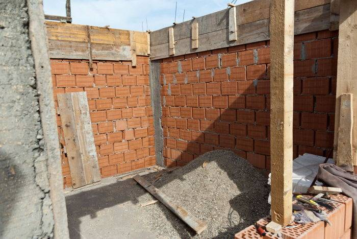 Баня своими руками - примеры реализованных проектов. строительство бани из газобетона с кирпичным цоколем, древесины, кирпича. описание этапов строительства