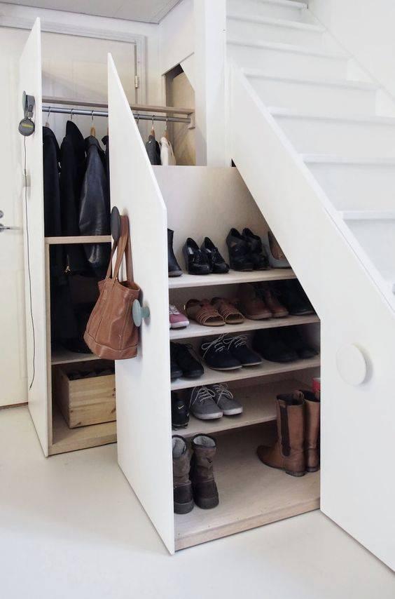 Способы хранения обуви в квартире: в шкафу, в коробках, органайзерах и даже на вешалках как хранить зимнюю и летнюю обувь, если в квартире мало места?